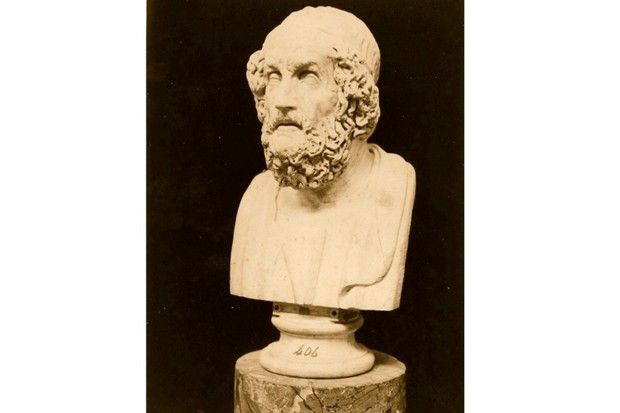 Bust of Homer c850 BC. (Hulton Archive/Getty Images)