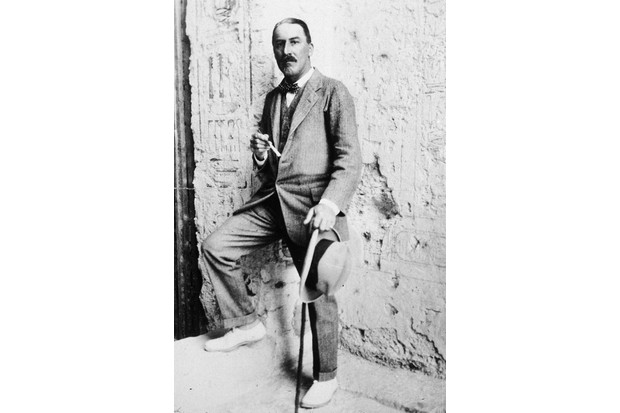 Howard Carter, Egypt, 1923. (Photo by Hulton Archive/Getty Images)