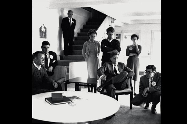 The Kennedys at Bobby Kennedy's house