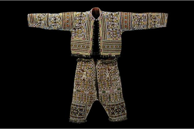 A 20th century jacket and pants from the Philippines.