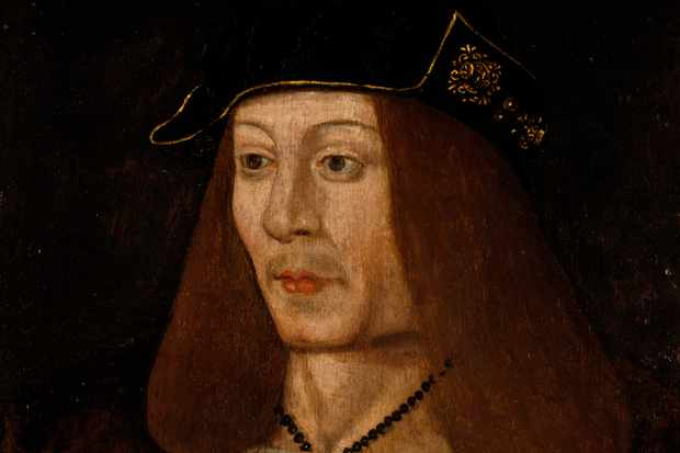 Portrait of James IV