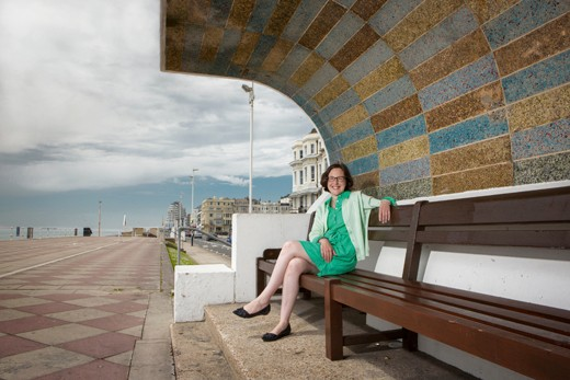 Kathryn Ferry, UK seaside expert in Hastings, East Sussex