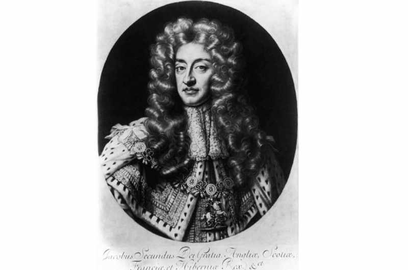 King James II of England and VII of Scotland (1633 - 1701), c. 1680. (Photo by Hulton Archive/Getty Images)