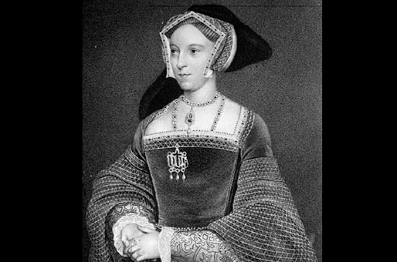 A portrait of Jane Seymour, queen of England from 1536 to 1537 as the third wife of Henry VIII. Jane is remembered for being the only wife to provide Henry with a son and male heir (the future Edward VI). Jane died on 24 October 1537, most likely from puerperal, or childbed, fever. (Photo by Popperfoto/Getty Images)