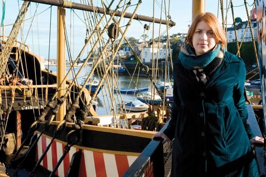Portrait of Miranda Kaufmann. (Image by Jeni Nott)