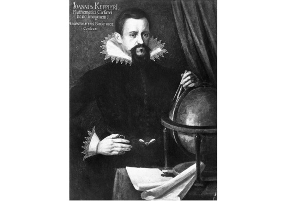 German astronomer Johannes Kepler c1620. (Photo by Rischgitz/Getty Images)