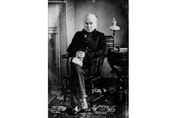John Quincy Adams. (Photo by Hulton Archive/Getty Images)