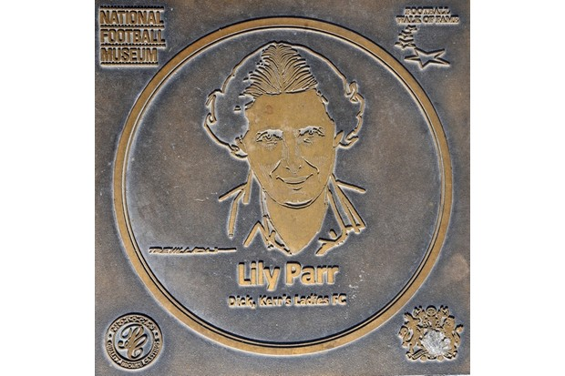 In 2002, Lily Parr was inaugurated into the Hall of Fame at the National Football Museum. (Gordon Marino/Alamy Stock Photo)