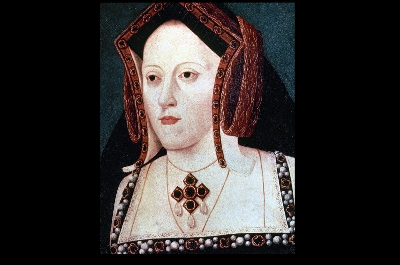 Katherine of Aragon, the first wife of Henry VIII. National Portrait Gallery, London. (Photo by PHAS/UIG via Getty Images)
