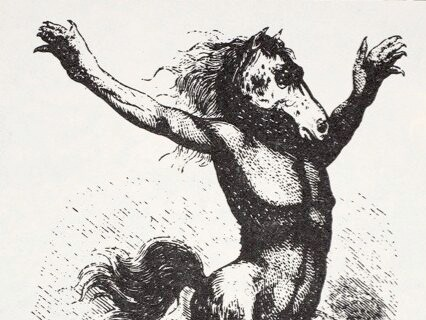A kelpie, from British folklore. (Image by Getty Images)