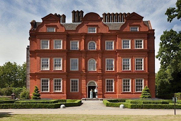 Kew Palace, a British Royal Palace in Kew Gardens, first occupied by members of the Royal Family in 1734 when it was known as the Dutch House. King George lll purchased the house in 1781.