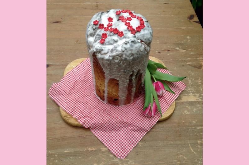 The Russian sweetbread kulich