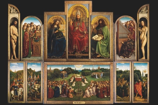The Ghent Altarpiece. (Image by Getty Images)