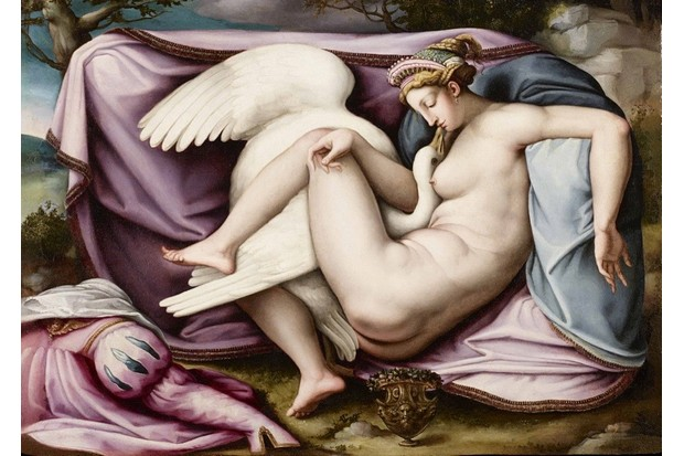 Leda and the Swan. Found in the collection of Galleria d'Arte Moderna e Contemporanea, Bergamo. (Photo by Fine Art Images/Heritage Images/Getty Images)