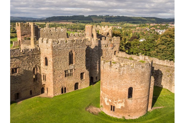 Ludlow Castle, where Prince Arthur, Henry's elder brother, married Catherine of Aragon. (© Denis Kelly/Dreamstime.com)