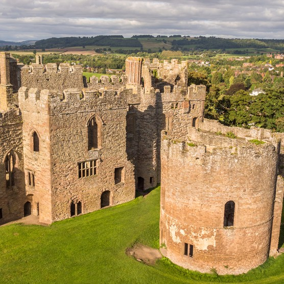 Ludlow Castle, where Prince Arthur, Henry's older brother, married Spanish princess Catherine of Aragon. (© Denis Kelly/Dreamstime.com)