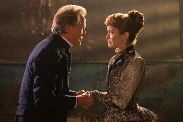 Bill Nighy and Olivia Cooke in 'The Limehouse Golem'.