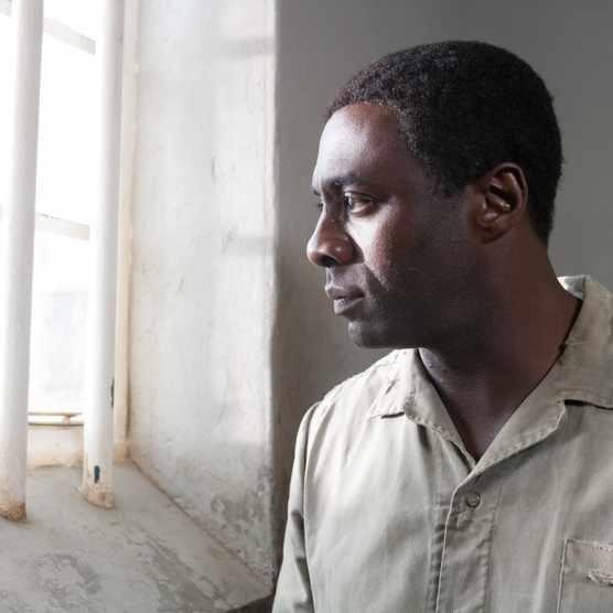 Idris Elba (Nelson Mandela) in Mandela: Long Walk to Freedom