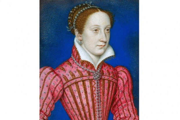 Portrait depicting Mary, Queen of Scots.