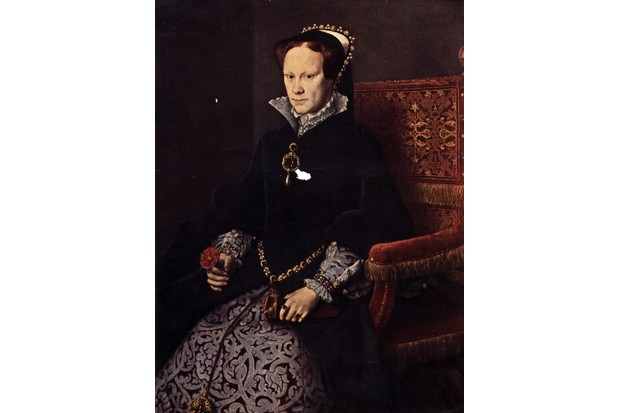 Mary I, c1553. (Photo by Hulton Archive/Getty Images)