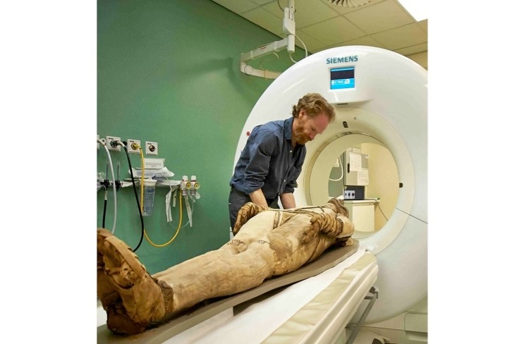 Secret lives of ancient Egyptians revealed by CT scans of