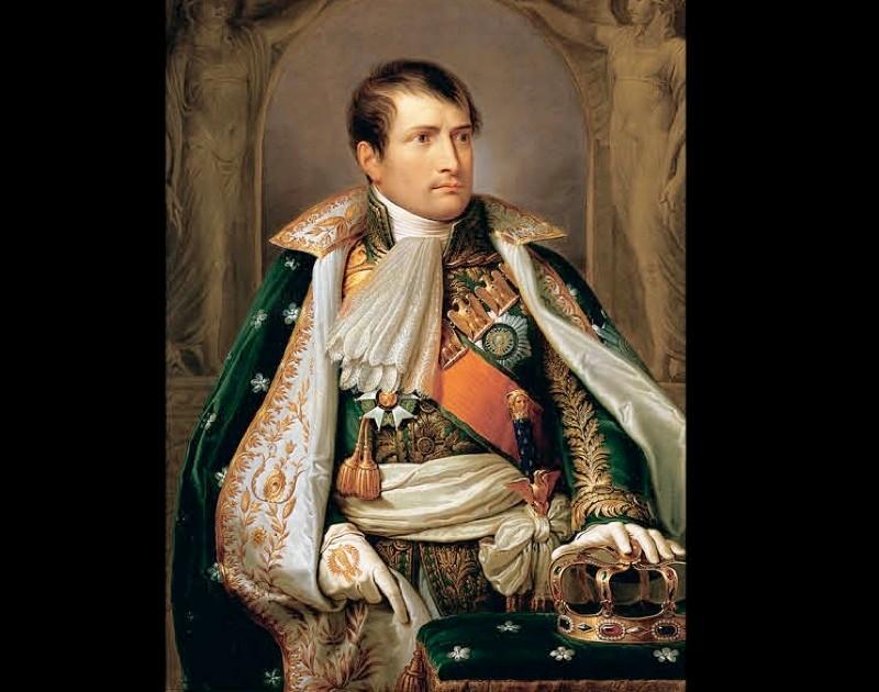 Napoleon Bonaparte of France. (Hulton Fine Art Collection via Getty Images)