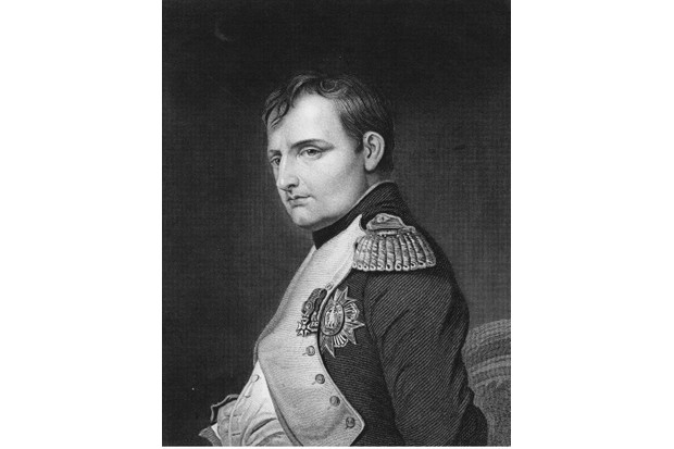 A portrait of Napoleon Bonaparte, 1 June 1815, in Paris, France. An engraving by Samuel Freeman from a painting by Paul Delaroche. (Photo by Hulton Archive/Getty Images)