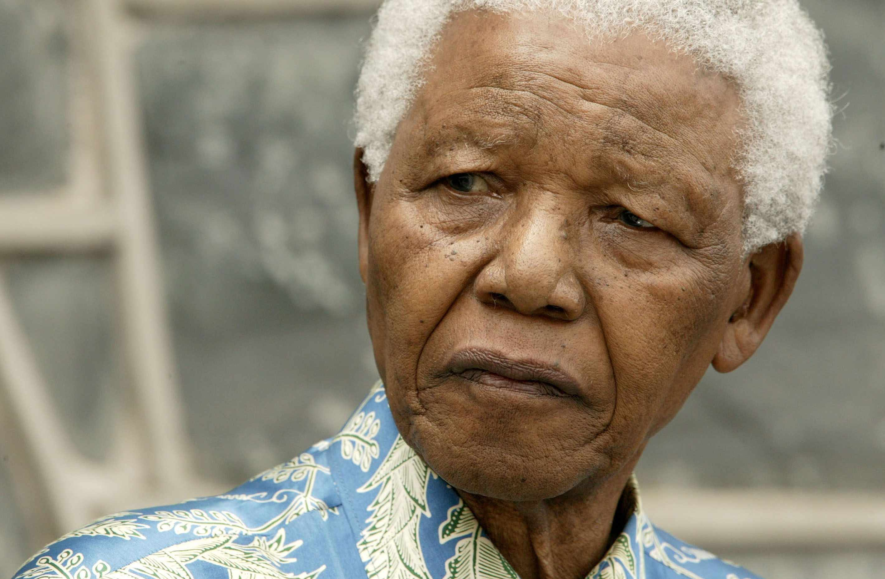 Nelson Mandela - Getty Images
