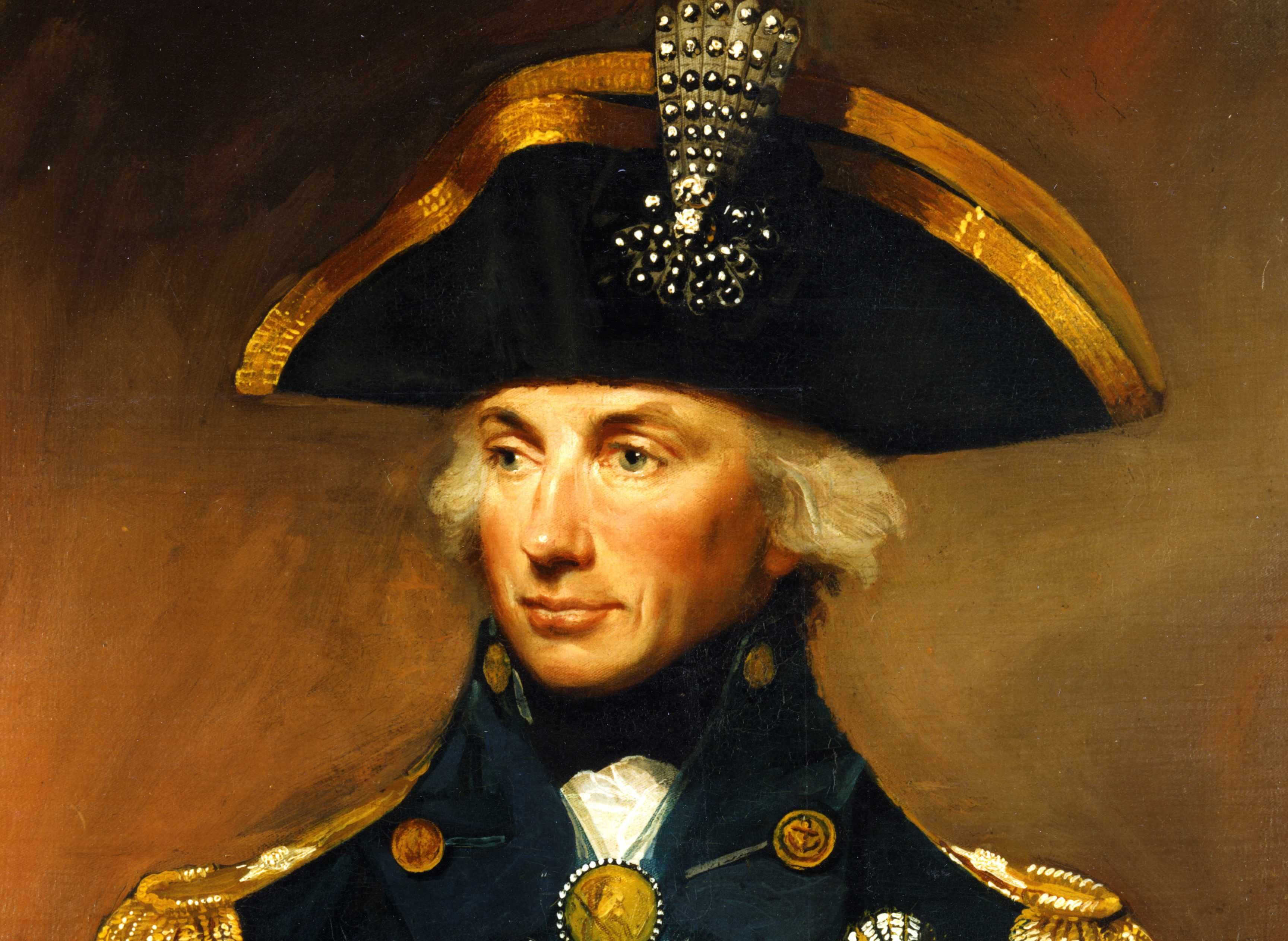Painting of Admiral Nelson