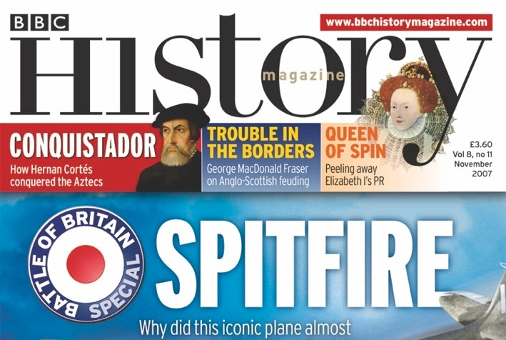 November 2007 cover