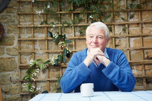 Paddy Ashdown photographed by Oliver Edwards for BBC History Magazine.