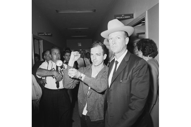 Lee Harvey Oswald. (Photo by Bill Winfrey/The Dallas Morning News)