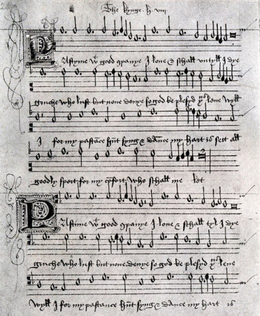 Tudor tunes: music at the courts of Henry VIII, Elizabeth I
