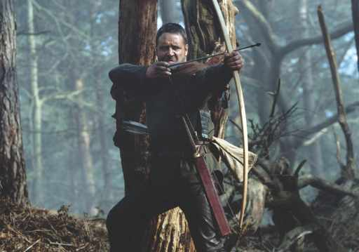 Russell Crowe in the 2010 film 'Robin Hood'. (Photo by Universal/Everett/Rex Features)
