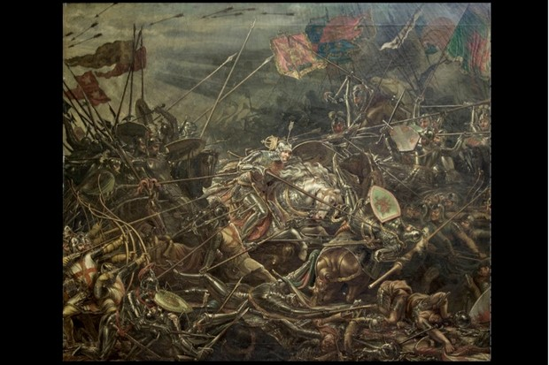Richard III battle of Bosworth painting brought out of hiding