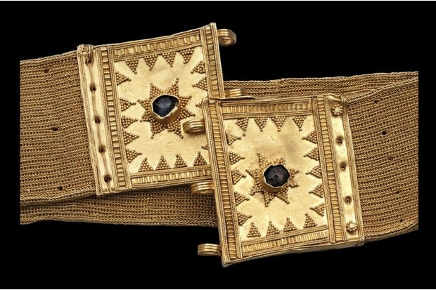 A royal belt from the Philippines, 10th century