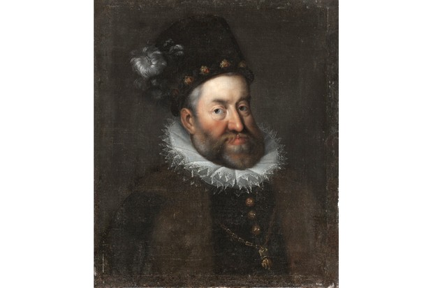 Portrait of Rudolf II of Austria. Found in the collection of Skokloster Castle. Artist anonymous. (Photo by Fine Art Images/Heritage Images/Getty Images)