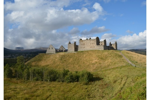 Ruthven Barracks. (Photo by David Hamilton)