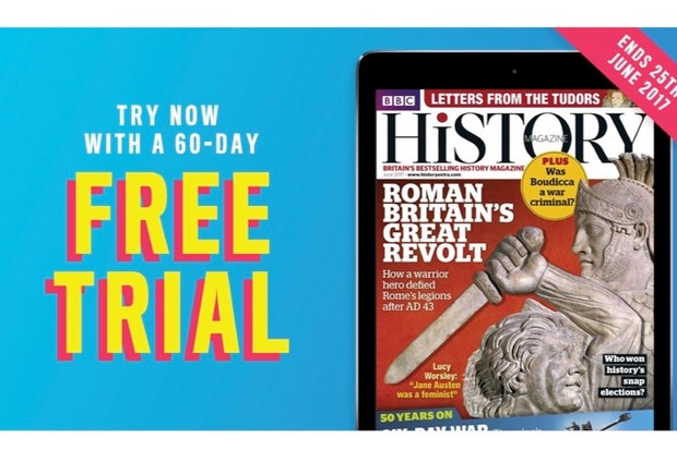Get a FREE 60-day trial subscription to the BBC History