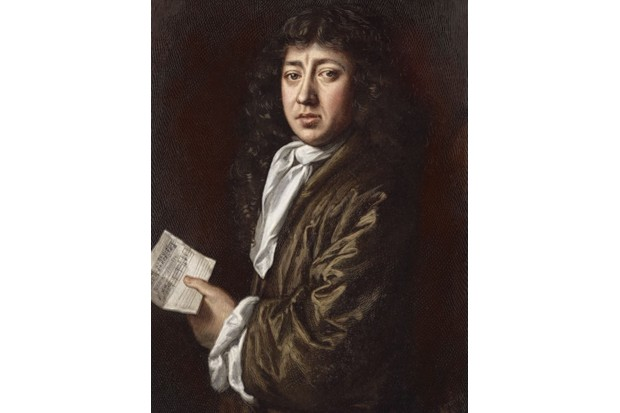 Samuel Pepys - portrait holding score after the painting by John Hayls. English writer and diarist. 1633 - 1703. Colourised version. (Photo by Culture Club/Getty Images)