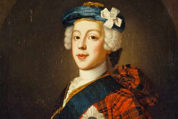 Prince Charles Edward Stuart, 1720 - 1788. Eldest son of Prince James Francis Edward Stuart