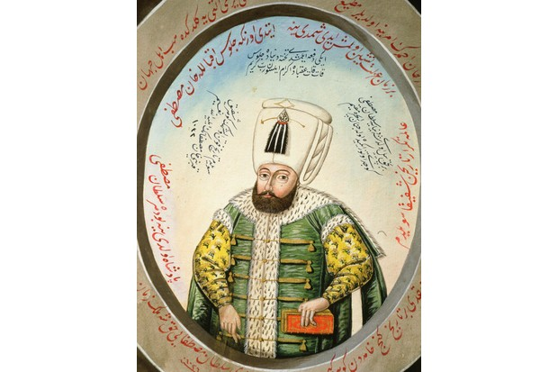 Ottoman Sultan Mustafa I, watercolour, 19th century. (Photo by The Art Archive/Alamy Stock Photo)