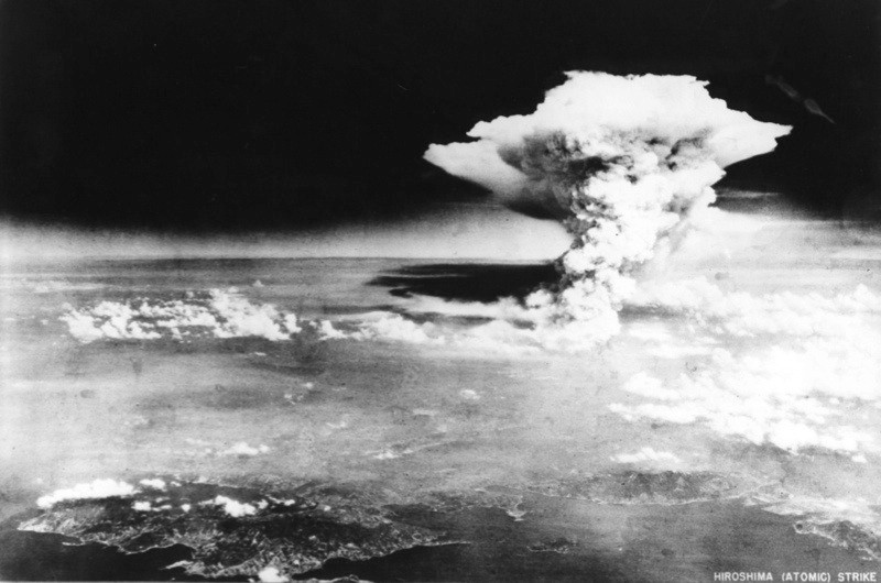 From Finestripe ProductionsTHE DAY THEY DROPPED THE BOMB Wednesday July 29th on ITV Pictured: Hiroshima Bomb Courtesy of the Hiroshima Memorial Peace Museam THE DAY THEY DROPPED THE BOMB marks the 70th anniversary of the day the world's first atomic bomb was dropped on Hiroshima, Japan. August 6 1945 marked the start of a terrifying new episode in human history. This documentary gives a minute by minute account of what happened on that tragic day, through people who were there and rarely-seen archive footage from the time. Made on location in Hiroshima and the US, it features unique interviews with eyewitnesses who seldom, if ever, speak, several of whom have since died, including the last surviving member of the crew who dropped the bomb - navigator Dutch Van Kirk.  © Finestripe For further information please contact Peter Gray0207 157 3046 peter.gray@itv.comThis photograph is © Finestripe and can only be reproduced for editorial purposes directly in connection with the  programme THE DAY THEY DROPPED THE BOMB  or ITV. Once made available by the ITV Picture Desk, this photograph can be reproduced once only up until the Transmission date and no reproduction fee will be charged. Any subsequent usage may incur a fee. This photograph must not be syndicated to any other publication or website, or permanently archived, without the express written permission of ITV Picture Desk. Full Terms and conditions are available on the website www.itvpictures.com