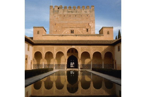 The Alhambra, Spain. (Photo by Paul Almasy/Corbis/VCG via Getty Images)