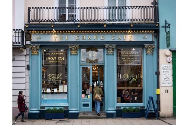 The Grand Cafe, Oxford. (Carolyn Eaton/Alamy Stock Photo)