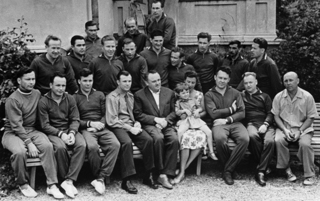 The first Soviet cosmonaut squad, 1961.