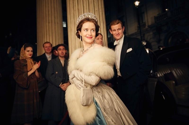 Claire Foy as Queen Elizabeth II in Netflix drama 'The Crown'. (© Netflix)
