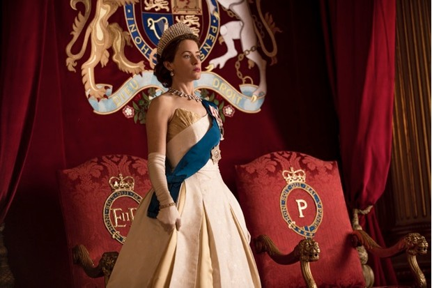 Queen Elizabeth II is played by actress Claire Foy in the award-winning drama. (© Robert Viglasky/Netflix)