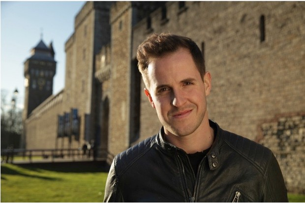 The Secrets Of British Castles Se2 Ep2 Cardiff Castle - Dan Jones at Cardiff Castle.