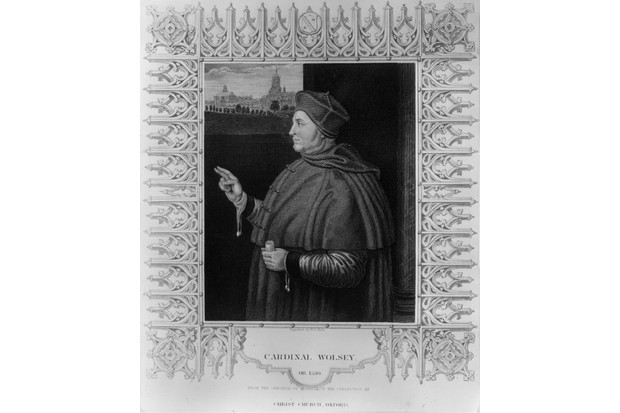 Thomas Wolsey c1510. Engraving by W J Mote from the original by Hans Holbein. (Photo by Hulton Archive/Getty Images)